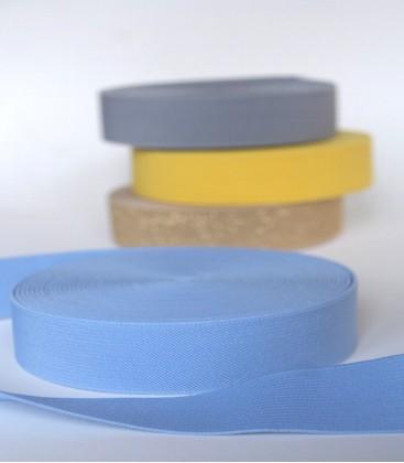 Elastisch tailleband blauw