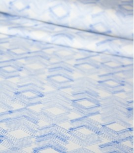 Art Gallery Fabrics   Limestone Feel Indigo Knit