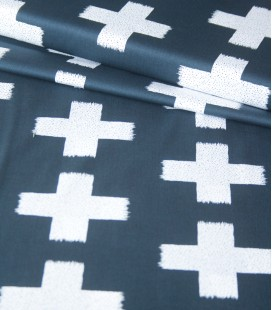 Art Gallery Fabrics | Crossed impressions night