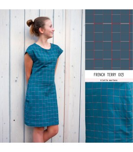 Atelier Lotte Martens | Squares Indian Teal