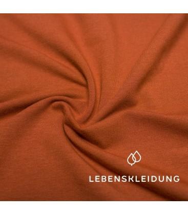 Lebenskleidung | Bio stretch Jersey Henna